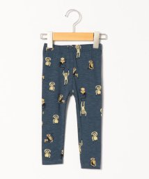 SHIPS KIDS/soft gallery:ORION BLUE MONKEY AOP PAULA BABY LEGGINGS(80~90cm)/502855538