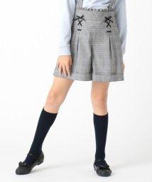 KUMIKYOKU KIDS/【150-170cm】チェックサスペンダー付きパンツ/502856046