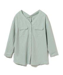 Ray BEAMS/Ray BEAMS / ダブル ポケット Vネックシャツ/502802859