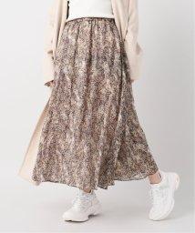 Plage/SPRAY PRINT スカート/502856767