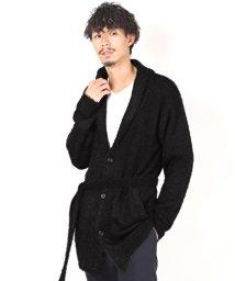 LUXSTYLE/フェザーヤーンショールカラーコーディガン/コーディガン メンズ カーディガン ロング丈 ニット/502857958