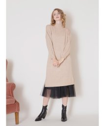 MIELIINVARIANT/Over Knit Onepiece/502858317
