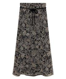 Lily Brown/刺繍レースマーメイドスカート/502858453