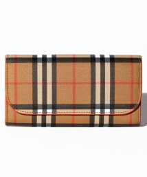 BURBERRY/【BURBERRY】Vintage Check&Leather Continental Wallet/502829924