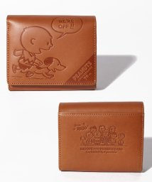 SNOOPY Leather Collection/PEANUTS SNOOPY 70周年LF二つ折れ/502842823