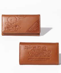 SNOOPY Leather Collection/PEANUTS SNOOPY 70周年キーケース/502842824