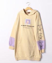 Lovetoxic/裏毛 スイーツアイコンパーカーワンピース/502842965