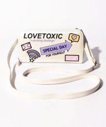 Lovetoxic/ショルダーストラップつきメッセージアイコン長財布/502842976