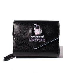 Lovetoxic/ドリンク刺しゅう2つ折り財布/502842977