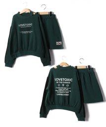 Lovetoxic/裏起毛 テープロゴセットアップ/502842986