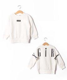 X-girl Stages/裏毛 前後ロゴトレーナー/502842997