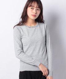 INTERPLANET/衿キラキラビジュー付プルオーバー/502843729