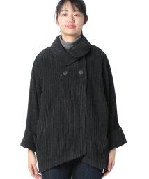 BENETTON (women)/太コーデュロイ変形カラーコート/502847804