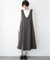 haco!/Tシャツにもニットにもずーーっと着られて便利なジャンパースカート/502548752