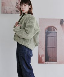 URBAN RESEARCH OUTLET/【KBF】WEB限定ミニシャギーブルゾン/502680189