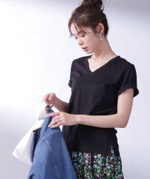 nano・universe/【with 4月号掲載】Anti Soaked VネックTシャツ/502828799
