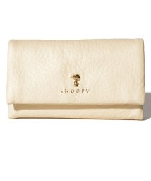 SNOOPY Leather Collection/PEANUTS SNOOPY スモーキーパステル キーケース/502842827