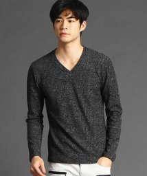 NICOLE CLUB FOR MEN/総柄Vネックカットソー/502846693