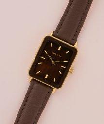 ANNE KLEIN/ANNE KLEIN 腕時計 スクエアロングレザーウォッチ/502852353