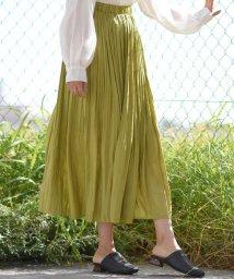 LIPSTAR/【2020SS新作カラー】シャイニープリーツスカート/502861539