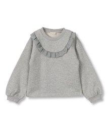branshes/胸元フリルラメ裏起毛トレーナー(90~150cm)/502861918