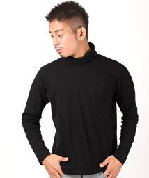 LUXSTYLE/スムース無地タートルネックロンT/ロンT メンズ 長袖 Tシャツ タートルネック スムース地/502864265