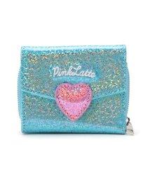 PINK-latte/グリッターレター三つ折り財布/502864294