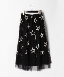 GRACE CONTINENTAL/スター刺繍チュールスカート/502864416