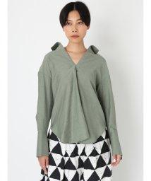 styling//オープンバックシャツ/502865119