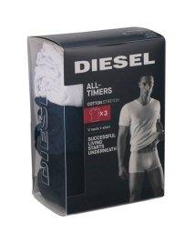 DIESEL/DIESEL UMTEE-MICHAEL 3パック Vネック ワンポイント Tシャツ 00SHGU-0TANL/502839424