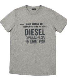 DIESEL/DIESEL T-DIEGO-B6 ディーゼル プリントTシャツ 00SXE6-0091A/502839430