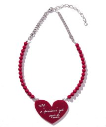 To b. by agnes b./WM45 NECKLACE ハートモチーフネックレス/502845645