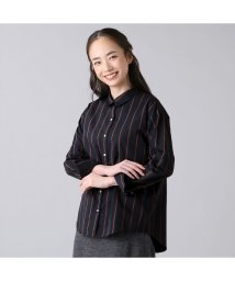 +nokto/ウィメンズシャツ カジュアル長袖 ゆったりシャツ レギュラー衿 ネイビー/502849135