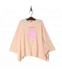 iosonomao moderate/プリント変形Tシャツ/502854164