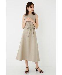 SHEL'TTER SELECT/Sleeveless Waist Tie Dress/502865610
