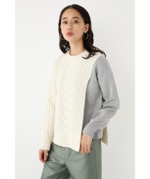 SHEL'TTER SELECT/Layered Cable Knit Tops/502865636