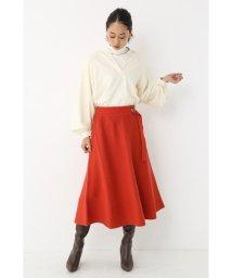 SHEL'TTER SELECT/Belted Knit Flare Skirt/502865640