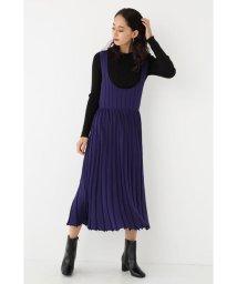 SHEL'TTER SELECT/Pleats Knit Dress/502865648