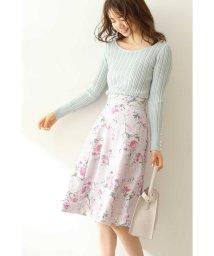 PROPORTION BODY DRESSING/プリントスカート/502866099