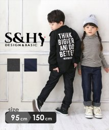 S&H/デニム風裏シャギー/502866270