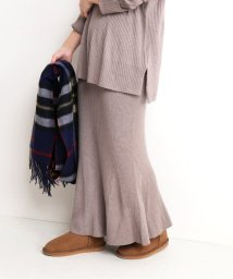 SLOBE IENA/《追加3》ホールガーメントマーメイドニットスカート◆/502867300
