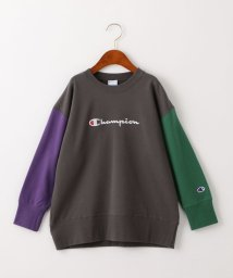green label relaxing (Kids)/◆【ジュニア】〔別注〕CHAMPION(チャンピオン)ロゴ スウェット/ クレイジーパターン/502867491