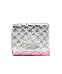 GUESS/ゲス GUESS BRIELLE SMALL TRIFOLD WALLET (PINK MULTI)/502868083