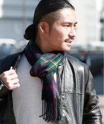 JIGGYS SHOP/日本製チェックマフラー / マフラー レディース ユニセックス メンズ チェック ペア カップル/502868196