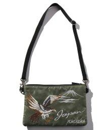 STYLEBLOCK/スカジャン風鷹刺繍ヨコ型マルチショルダーバッグサコッシュ/502842745