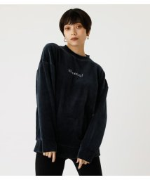 AZUL by moussy/VELOUR LOGO TOPS/502870431