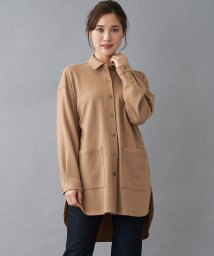 Leilian/【特別提供品】ウールチュニックシャツ/502815489