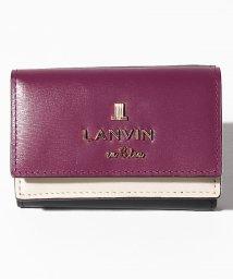 LANVIN en Bleu(BAG)/ジゼル 3つ折り財布/502847468