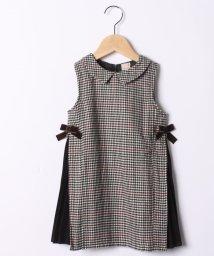 petit main/サイドリボン切り替えジャンパースカート/502859586