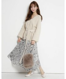Rirandture/スカーフ刺繍スカート/502862016